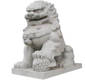 这是哪间寺庙的石狮子啊?图片