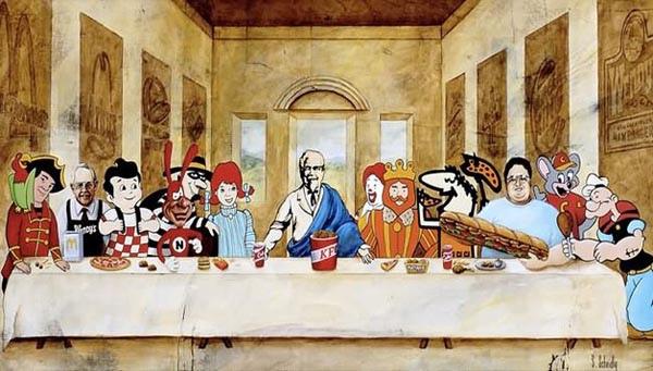 达文西最后的晚餐kuso大集合