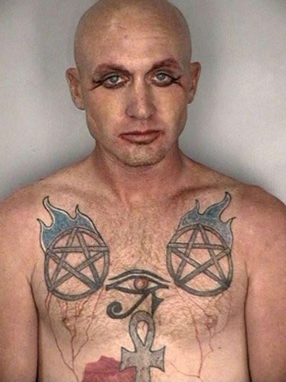 世界各地脸上有纹身的囚犯(过敏者勿进)