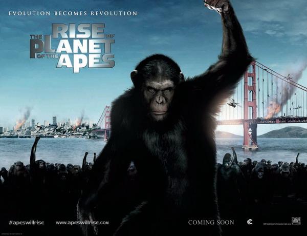 《猩球崛起》情感道德和科学的冲突