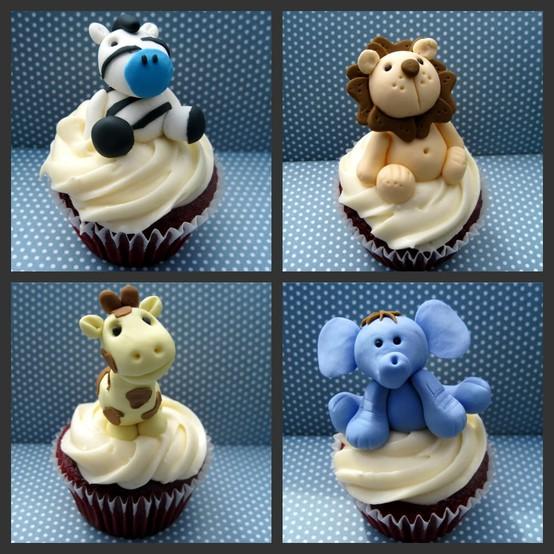 我们就来看看杯子蛋糕界有哪些可爱的动物造型吧!