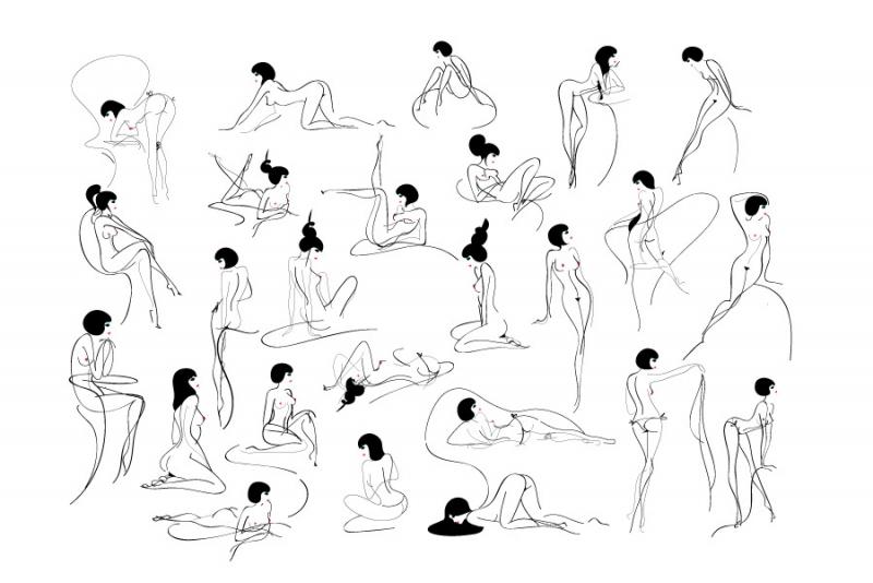 裸体�y.�9f_(线条匀称 充满力与美的裸体abc)