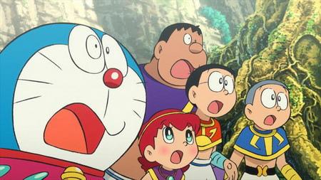 虽然动画的画风和小时候相比,不可否认有些微的差异,但还是很开心