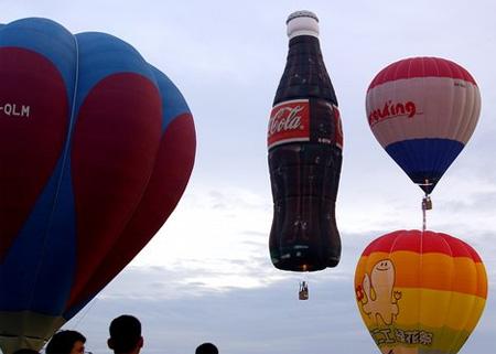 世界上造型奇异可爱的热气球们