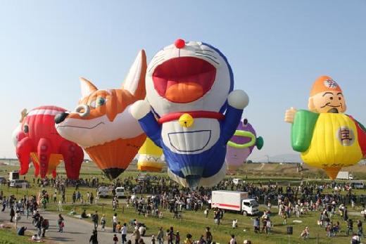 世界上造型奇异可爱的热气球们图片