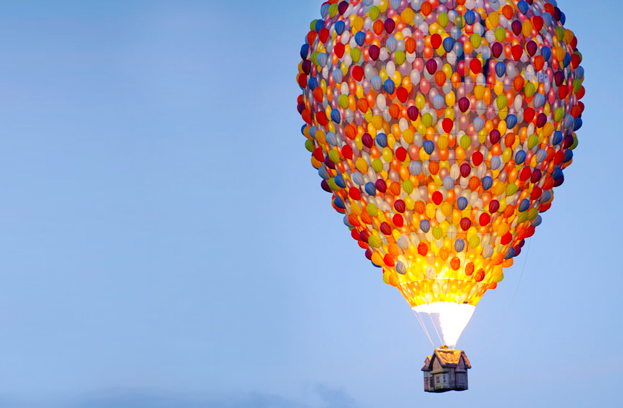 世界上造型奇異可愛的熱氣球們