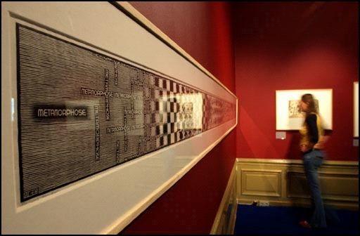 「幻覺藝術之父」艾雪 (1) 漸變藝術 by M.C.Escher - 藝文活動遊記版 ::透可小鎮::Citytalk城市通