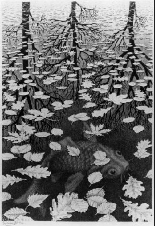 「幻覺藝術之父」艾雪 (2) 錯視藝術 by M.C.Escher - 藝文活動遊記版 ::透可小鎮::Citytalk城市通