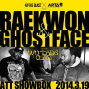 RAEKWON and GHOSTFACE of the WU TANG CLAN-封面