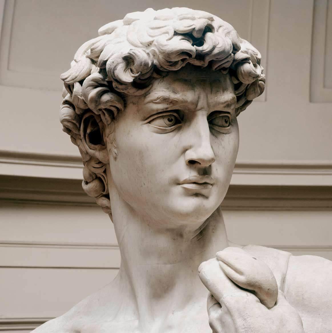这件大卫雕像被推崇为古典艺术品的典范!